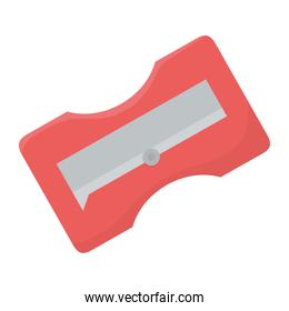 Isolated sharpener design vector illustrator