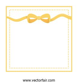 Isolated bowtie design vector illustration