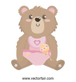 Isolated baby symbol design vector illustration