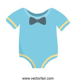 Isolated baby cloth design vector illustration