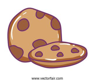 Isolated cookie vector design vector illustration