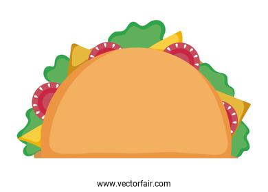 Isolated tacos design vector illustration