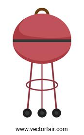 Isolated grill design vector illustration