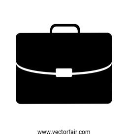 business briefcase pictogram icon