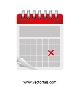 wired calendar icon image