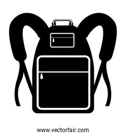 travel backpack icon image