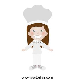 child dressed as chef icon image