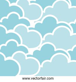 cloudy background icon image