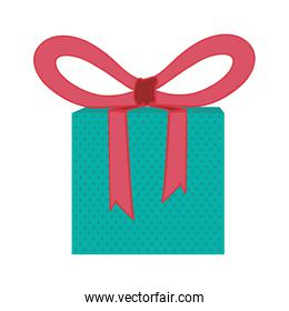 gift box with bow icon image