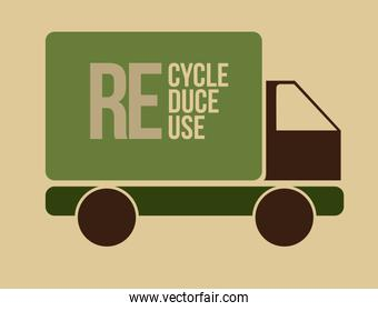 Recycle design , vector illustration