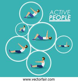 Active People design
