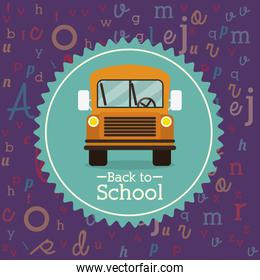 Back to school icons design