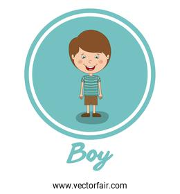 boy smiling design