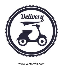 delivery service , vector illustration