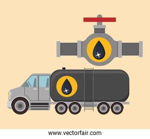 oil and petroleum industry design
