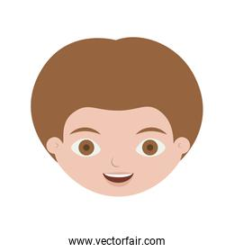 front face child with light brown hair