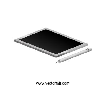tech touch tablet with pen