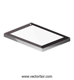 tech touch tablet camera front lying down