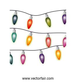 image with extension cord lights multicolor christmas