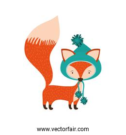 cartoon fox icon