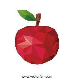 abstract apple fruit icon