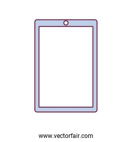 contour tablet touch in light purple color