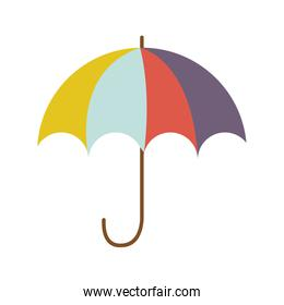 full color with umbrella opened