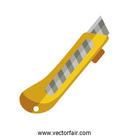 cutter icon tool with yellow body