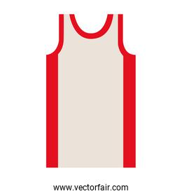 silhouette colorful of basketball t-shirt