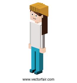 lego female silhouette worker with helmet