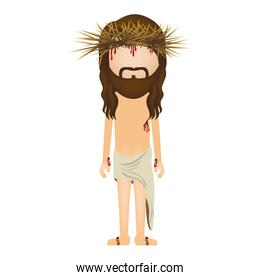 avatar jesus christ with crown of thorns