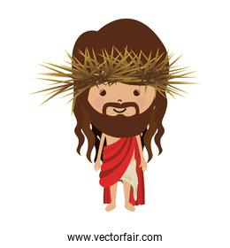 avatar jesus christ with stole and crown thorns