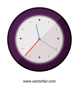 colorful silhouette watch time device