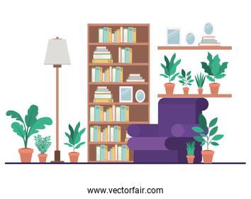 living room isolated icon