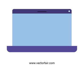 laptop screen isolated icon