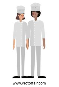 couple of cooks avatar character