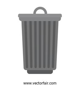 trash can isolated icon