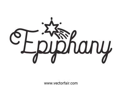 epiphany celebration calligraphy message