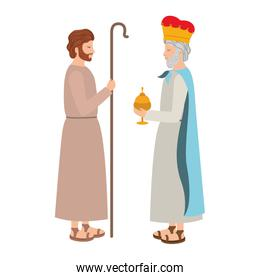 saint joseph with wise king character