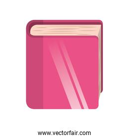 library book isolated icon