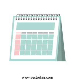 calendar reminder isolated icon