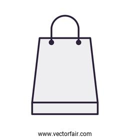 shopping bag isolated icon