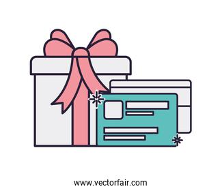 gift and credit card