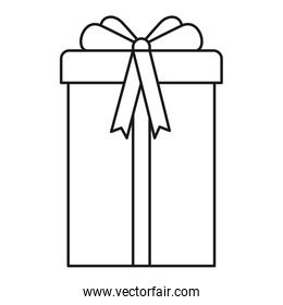 gift box isolated icon