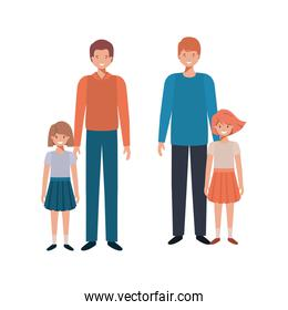 fathers and daughters avatar character