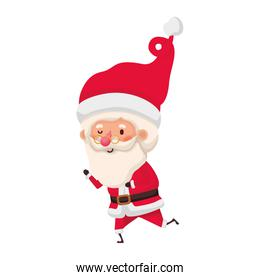 santa claus moving avatar character