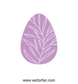 easter egg isolated icon