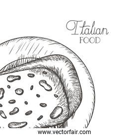 delicious cheese in drawing icon