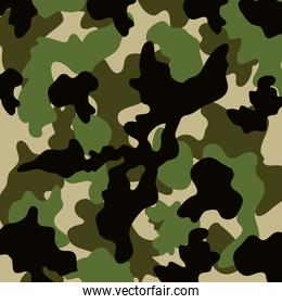 pattern with military texture isolated icon