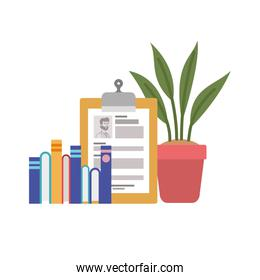 curriculum vitae white background